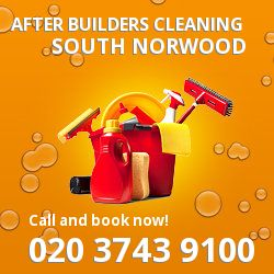 SE25 post builders clean near South Norwood