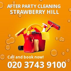 Strawberry Hill holiday celebrations cleaning TW2