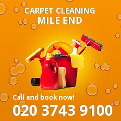 E1 stair carpet cleaning in Mile End