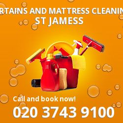 St James's curtains and mattress cleaning SW1