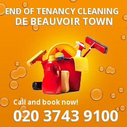 De Beauvoir Town professional end of lease cleaners in N1