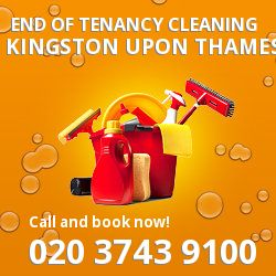 Kingston upon Thames professional end of lease cleaners in KT1