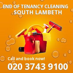 South Lambeth professional end of lease cleaners in SW8