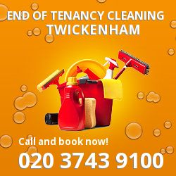 Twickenham professional end of lease cleaners in TW1