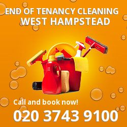 West Hampstead professional end of lease cleaners in NW6