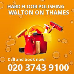 Walton on Thames clean and safe floor surfaces KT12