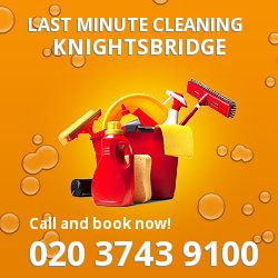 SW7 same day cleaning services in Knightsbridge