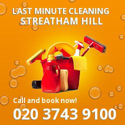 SW2 same day cleaning services in Streatham Hill