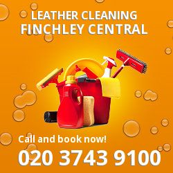 N3 faux leather cleaning Finchley Central