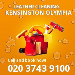 W12 faux leather cleaning Kensington Olympia