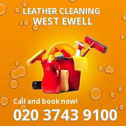 KT19 faux leather cleaning West Ewell