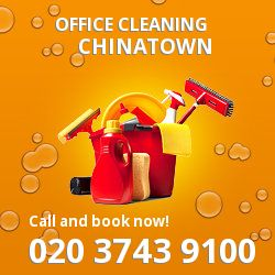 Chinatown business property cleaning services W1