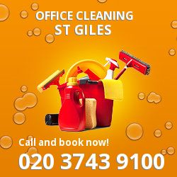 St Giles business property cleaning services WC2
