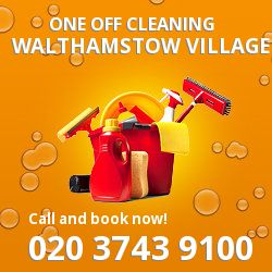 E17 deep cleaners in Walthamstow Village