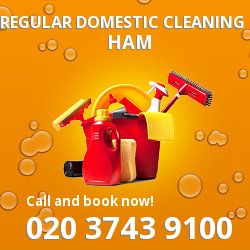 Ham domestic property cleaning services TW10