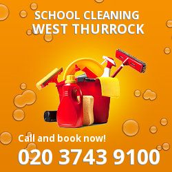 RM20 school cleaning West Thurrock