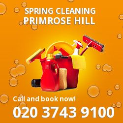 NW1 seasonal cleaners in Primrose Hill