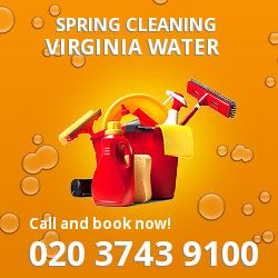 GU25 seasonal cleaners in Virginia Water