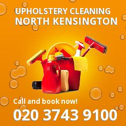 North Kensington upholstery cleaning W10