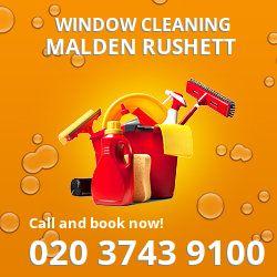 Malden Rushett gutter cleaning KT9