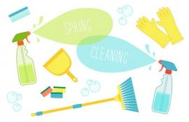 Getting Through The Dreaded Spring Cleaning In Bow!